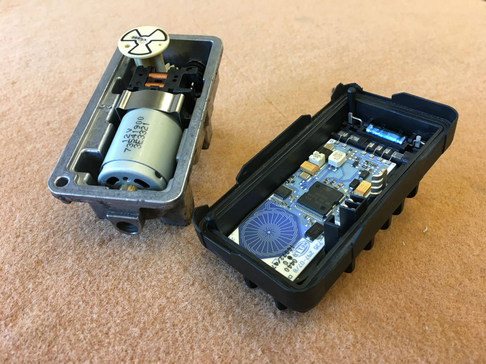 VNT-actuator inside